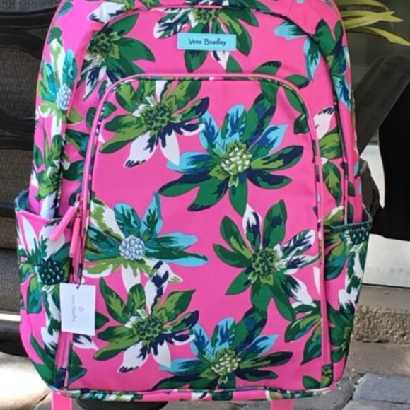 cd327ac3bf4d vera bradley laptop backpack tropical paradise